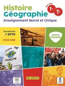 Parcours Pro Hg Histoire Geographie Emc 1re, Tle Bac Pro (2021) - Pochette Ele