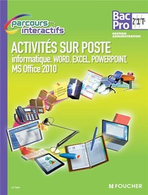 Parcours Interactifs ; Api Word, Excel, Powerpoint ; 2nde, 1ere, Terminale ; Bac Pro