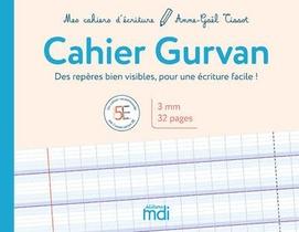 Mdi Mes Cahiers D'ecriture Cahier Gurvan 3mm 2020