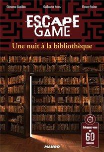 Escape Game ; Une Nuit A La Bibliotheque