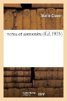 Notes Et Souvenirs