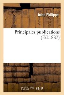 Principales Publications