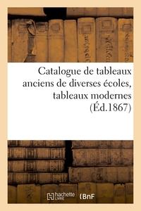 Catalogue De Tableaux Anciens De Diverses Ecoles, Tableaux Modernes