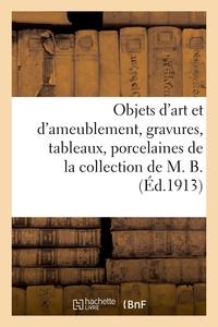 Objets D'art Et D'ameublement, Gravures, Tableaux, Porcelaines, Ceramique, Verrerie, Bronzes - Pendu