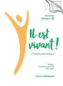 Il Est Vivant ! T.26 ; Recharge De Partitions Pour Classeur ; L'integrale (edition 2021)