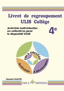 Livret De Regroupement Ulis College 4e