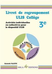 Livret De Regroupement Ulis College 3e