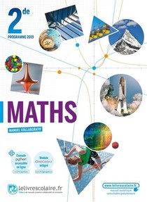 Mathematiques 2nde, Edition 2019