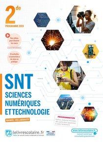 Sciences Numeriques Et Technologie 2nde, Manuel Eleve, Edition 2021
