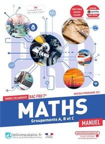 Mathematiques Tle Bac Pro, Manuel Eleve, Edition 2021