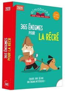 Almabook ; 365 Enigmes Pour La Recre (edition 2020)