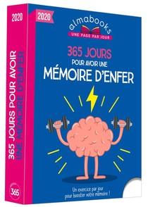 Almabook ; 365 Jours Pour Avoir Une Memoire D'enfer (edition 2020)