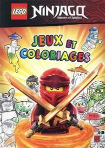 Lego Ninjago - Masters Of Spinjitzu ; Jeux Et Coloriages