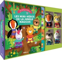 La Fabrique A Histoires ; Les Mini-heros De La Jungle Magique