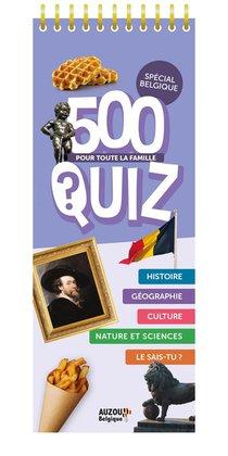 Mes 500 Quiz - La Belgique