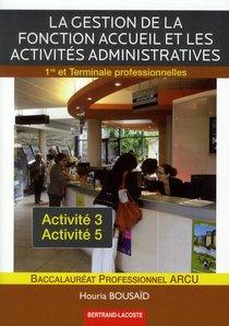 Gestion De La Fonction Accueil Et Activ. Administratives
