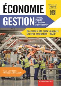 Economie Gestion Bac Pro Industriels