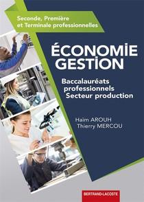 Economie Gestion Bac Pro Production