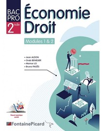 Economie-droit Modules 1&2-seconde Bac Pro Tertiaires
