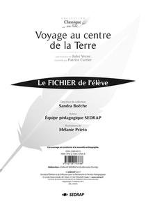 Voyage Au Centre De La Terre - Fichier Pedagogique