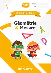 Cahiers De Reussite Geo & Mesures Cm1 - Lot De 5
