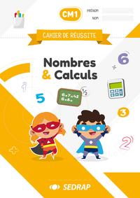 Cahiers De Reussite Nombres & Calculs Cm1 - Lot De 5