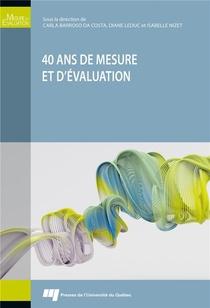 40 Ans De Mesure Et D'evaluation