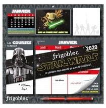 Star Wars ; Frigobloc ; Le Calendrier Maxi-aimante Qui La Vie Te Simplifiera ! (edition 2020)