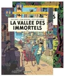 Blake Et Mortimer ; Coffret T.25 Et T.26 ; La Vallee Des Immortels T.1 Et T.2