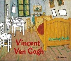 Coloring Book Vincent Van Gogh /anglais