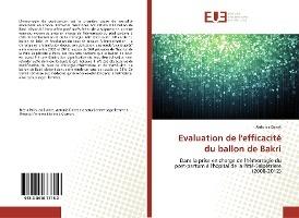 Evaluation De L'efficacite Du Ballon De Bakri - Dans La Prise En Charge De L'hemorragie Du Post-part