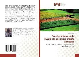 Problematique De La Durabilite Des Microprojets Agricoles