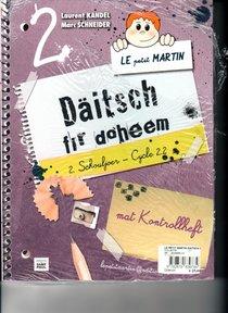 Le petit Martin Daitsch fir doheem cycle 2.2