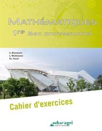 Mathematiques - 1re Bac Professionnel : Cahier D'exercices