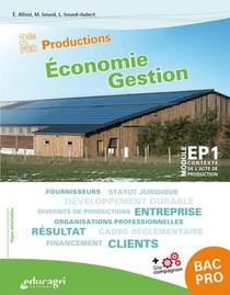 Economie Gestion 2de Pro Productions : Cahier D'activites