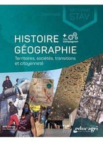 Histoire Geographie Terminale Bac Technologique Stav - Territoires, Societes Et Citoyennete