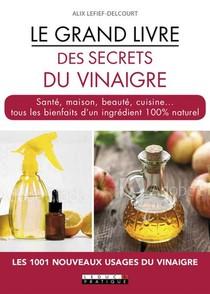 Le Grand Livre Des Secrets Du Vinaigre ; Sante, Maison, Beaute, Cuisine... Tous Les Bienfaits D'un Ingredient 100% Naturel