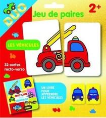 Les Vehicules - Pochette Duo - Jeu De Paires 2+