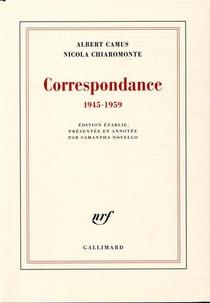 Correspondance 1945-1959