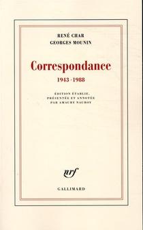 Correspondance 1943-1988