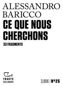 Ce Que Nous Cherchons ; 33 Fragments