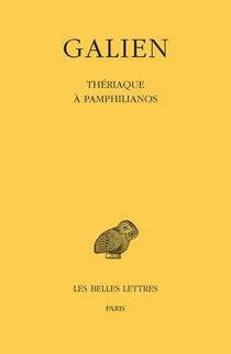 Oeuvre, T.10 : Theriaque A Pamphilianos