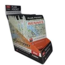 Boite Comptoir Plan Pocket De Rennes (15 Ex)