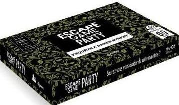 Escape Game Party : Enquete A Baker Street