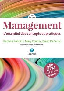 Management ; Mylab ; L'essentiel Des Concepts Et Pratiques (11e Edition)