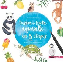 Dessins Au Feutre Aquarelle En 5 Etapes