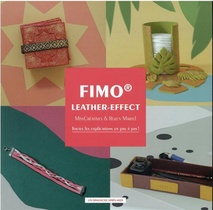 Fimo Leather-effect