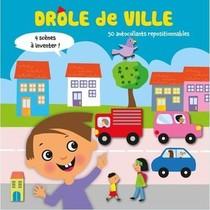 Drole De Ville : 50 Autocollants Repositionnables