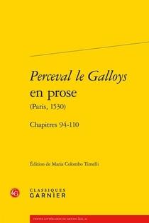Perceval Le Galloys En Prose (paris, 1530) ; Chapitres 94-110