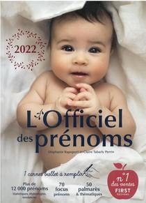 L'officiel Des Prenoms (edition 2022)